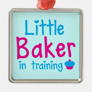 Little BAKER in training Metal Ornament