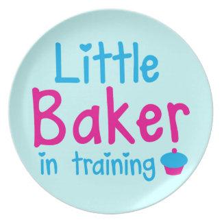Little BAKER in training Plate
