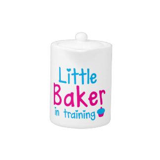 Little BAKER in training Teapot