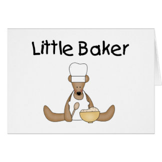 Little Baker T-shirts and Gifts Card