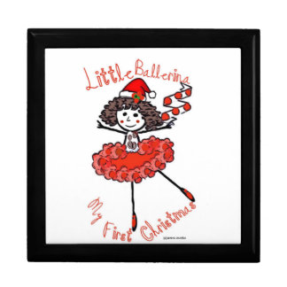 Little Ballerina-1st Christmas-Treasure Keeper Jewelry Box