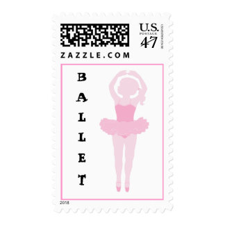 Little Ballerina Ballet Stamp