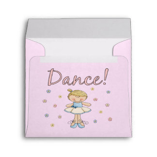 Little Ballerina Envelopes