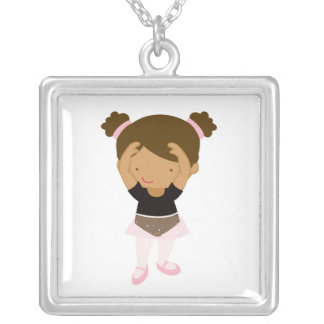 Little Ballerina Personalized Necklace