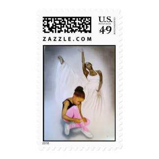 """Little Ballerina"" Stamp"
