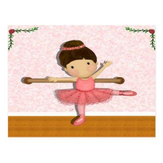 Little Ballerina Postcard