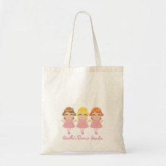little  BALLERINA PRINCESS gift tote bag