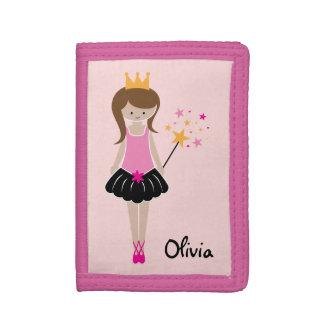 Little Ballerina Princess Trifold Wallet