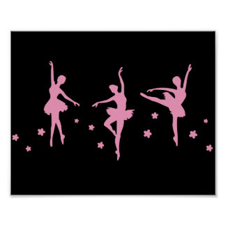 Little Ballerinas Poster