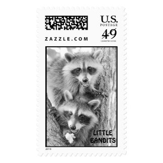 Little Bandits Postage Stamps