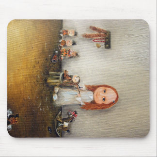 Little Barber Mouse Pads