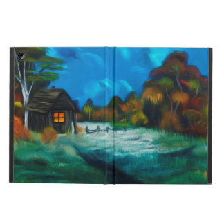 Little Barn Full Moon Glow iPad Air Cover