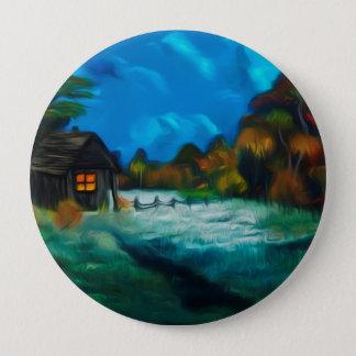 Little Barn Full Moon Glow Pinback Button