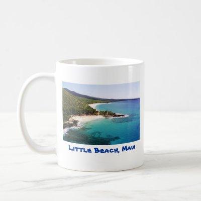 Nude beach Maui, 2 sided mug