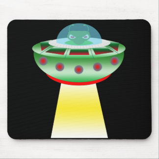 Little Beamer - Green Mouse Pad
