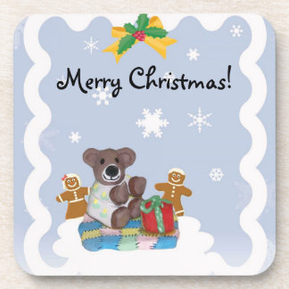Little Bear Christmas Coasters