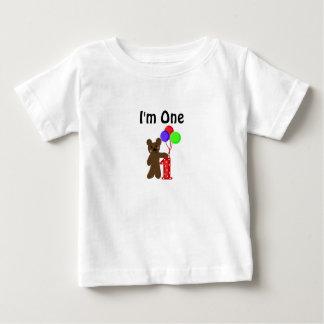 Little Bear I'm One Baby T-Shirt
