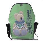 Little Bear in Paris Messenger Bag