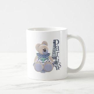 Little Bear in Paris Coffee Mugs