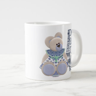 Little Bear in Paris Extra Large Mugs