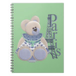 Little Bear in Paris Spiral Note Books