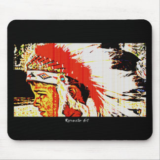 Little Bear Indian Mouse Pad
