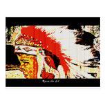 Little Bear Indian Post Card