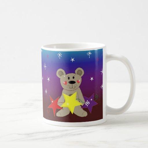 Little Bear with Stars Mug