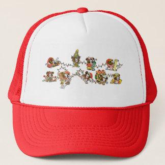 Little Bears and Christmas Lights Trucker Hat