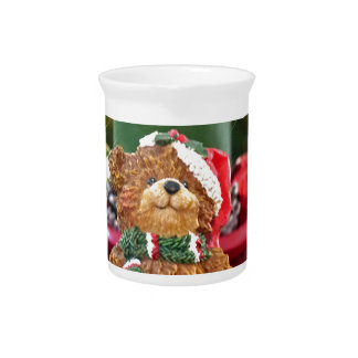 Little Bears Christmas Beverage Pitcher