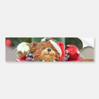 Little Bears Christmas Bumper Sticker