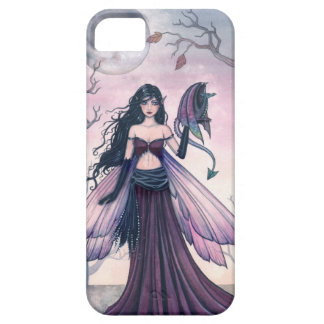 Little Beast Purple Fairy and Dragon Art iPhone 5 Cases