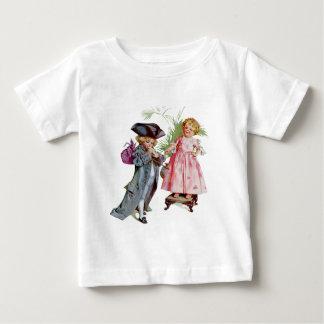 Little Benjamin Franklin Baby T-Shirt