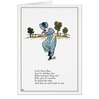 Little Betty Blue Card