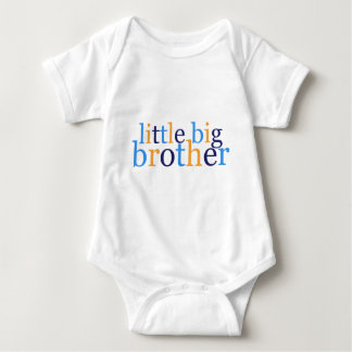 Little Big Brother Baby Bodysuit