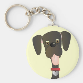 Little Big Dog Keychain