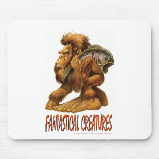 Little Big Foot Mouse Pad