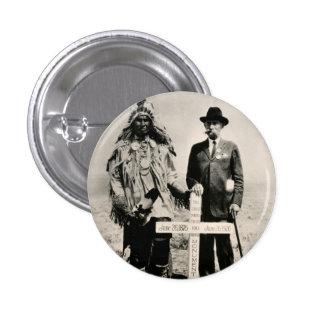 Little Big Horn 1926 Pin Redondo De 1 Pulgada