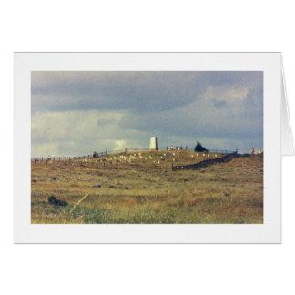 Little Bighorn Battlefield National Monument (phot Card