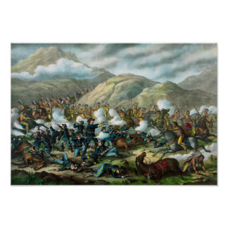 Little Bighorn - Custer's Last Stand Poster