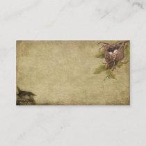Little Bird & Birdnest- Prim Biz Cards