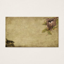 Little Bird & Birdnest- Prim Biz Cards