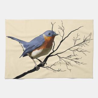 Little Bird Blue, kitchen towel