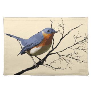 Little Bird Blue, placemat