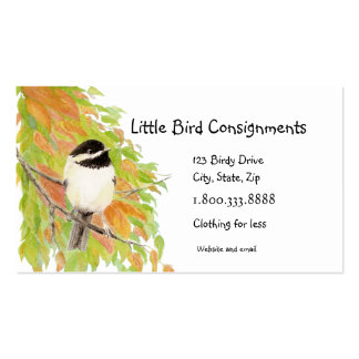 Little Bird Clothing Consignment  Business Card