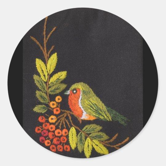 Little Bird Collection Classic Round Sticker