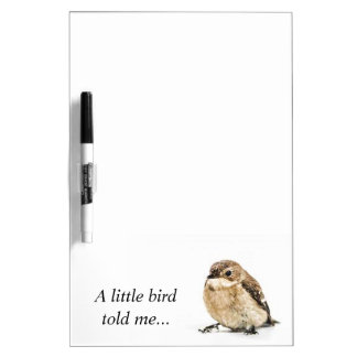 Little Bird Dry-Erase Whiteboard