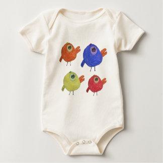 Little Bird Family Baby Bodysuit