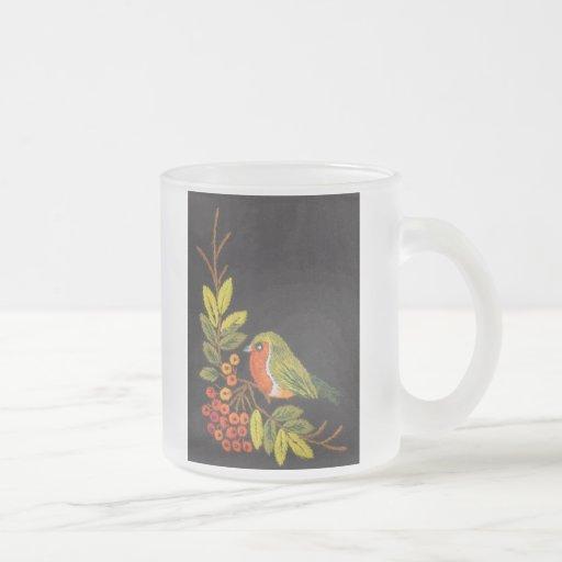 Little Bird Frosted Mug