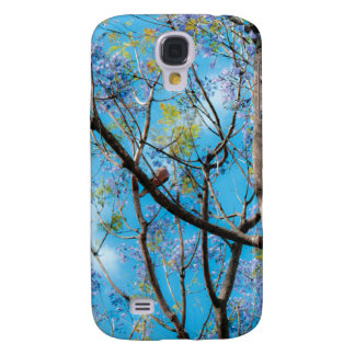 Little bird in the woods samsung galaxy s4 cover
